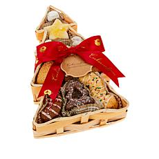 Cookies Con Amore 1.5 lb. Assorted Cookies in Tree Basket