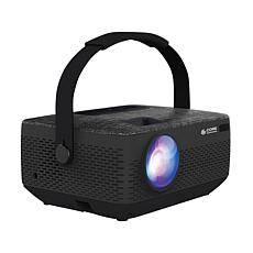"""Core Innovations 150"""" Portable LCD Home Theater Projector - Black"""