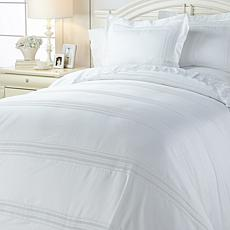 Cottage Collection 650TC Eyelet Cotton-Rich Duvet Set
