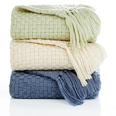 Cottage Collection Crochet Throw