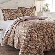 Cottage Collection Floral Garden 3-piece Quilt Set