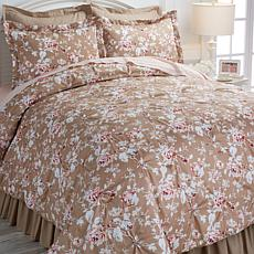 Cottage Pintuck 100% Cotton 6pc Comforter Set