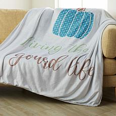 Country Living Home Collection Harvest Throw - Gourd Life