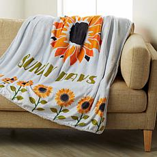 Country Living Home Collection Harvest Throw - Sunny Day