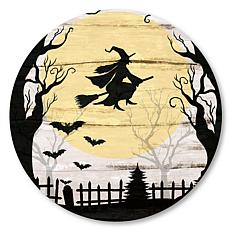 "Courtside Market Harvest Moon Halloween 35""x35"" Decal"