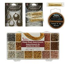 Cousin Bracelet and Earring DIY 5-piece Starter Kit
