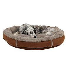 CPC Faux Suede Comfy Cup Pet Bed - Medium