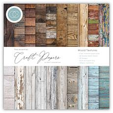 Craft Consortium Wood Textures 6x6 Premium Paper Pad