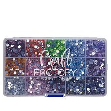 Craft Factory Gem-like Embellishments in 15 Colors
