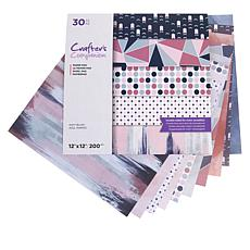 "Crafter's Companion 30-pack 2-Sided 12"" x 12"" Paper - Modern"
