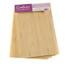 Crafter's Companion Adhesive Sheet 15-pack - Wood