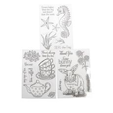 Crafter's Companion All Things Nice Set of 3 Stamps