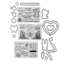 Crafter's Companion Animals Slider Stamp and Die Set
