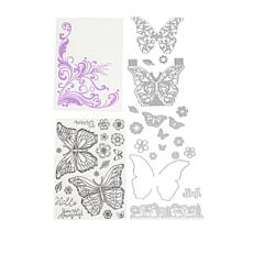 Crafter's Companion Butterfly Dimensional Stamp and Die Set