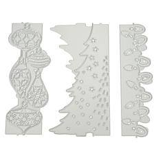 Crafter's Companion Christmas Decorations Double-Side Edge'able Dies