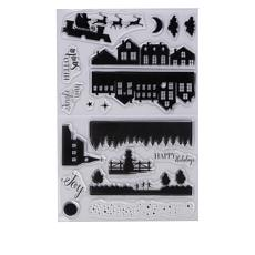 Crafter's Companion Classic Christmas Layering Stamps