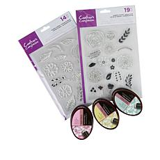 Crafter's Companion Floral Delight Stamps & Inks