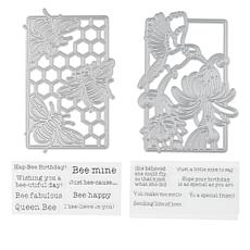 Crafter's Companion Gemini Birds and Bees Stamp & Die Set