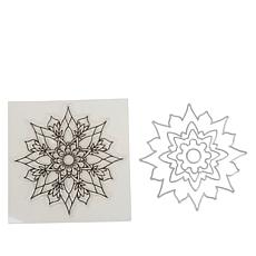Crafter's Companion Gemini Mandala Chakra Stamp and Die Set
