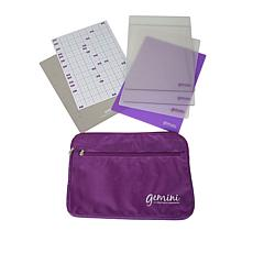 Crafter's Companion Gemini Plate Bundle and Bag