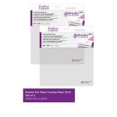"Crafter's Companion Gemini Pro 12"" x 12"" Cutting Plates Set of 2"