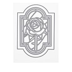 Crafter's Companion Gemini Rose Stained Glass Window Die
