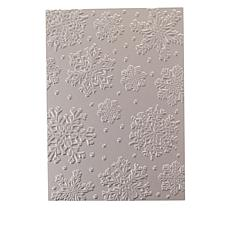 Crafter's Companion Gemini Snowflake Background Foil Stamp
