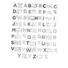 Crafter's Companion Gemini Statement Stamp and Die Alphabet Set