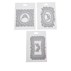 Crafter's Companion Gemini Traditional Lace Nesting Frame Die Set