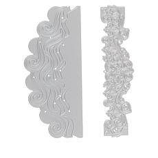 """Crafter's Companion Gemini """"Waves"""" Double-Sided Edge'able Dies"""