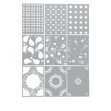 Crafter's Companion Kaleidoscope Pattern Layering Stencils