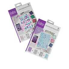 Crafter's Companion Modern Background Layering Stamps