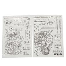 Crafter's Companion Molly Harrison Clear Stamps - Fairytale