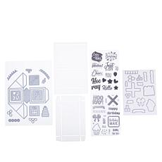 Crafter's Companion Pop-Up Confetti Cube Stamp and Die Set