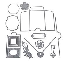 Crafter's Companion Precious Memories Mini Pocket & Accessories Dies
