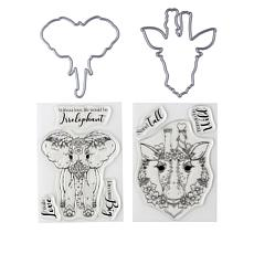 Crafter's Companion Safari Animal Stamp and Die Set