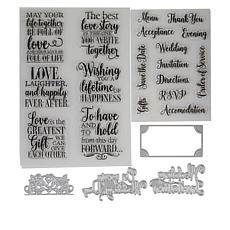 Crafter's Companion Sara Garden of Love Wedding Bundle