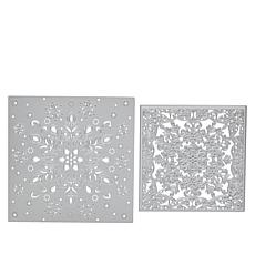 Crafter's Companion Sara Signature Glittering Snow Create-a-Card Dies