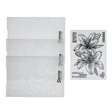 Crafter's Companion Sheena 3D Embossing Folder Bundle Floral