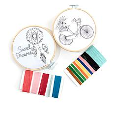 Crafter's Companion Threaders Embroidery Kits