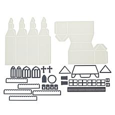 Crafter's Companion Village Stencil and Die Bundle - Small
