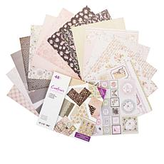 "Crafter's Companion Vintage Florals 12"" x 12"" Paper Pad"