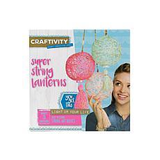 Craftivity Super String Lanterns kit