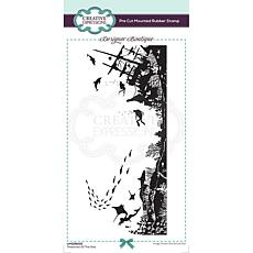 Creative Expressions Boutique Treasures of the Sea DL Pre-Cut Stamp