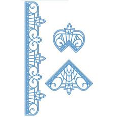 Creative Expressions Pacific Ocean Collection Border & Corners Die