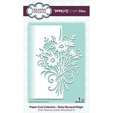 Creative Expressions Paper Cuts Edger Daisy Bouquet Craft Die