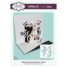 Creative Expressions Paper Cuts Woof! Craft Die