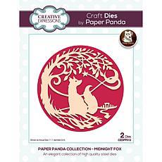 Creative Expressions Paper Panda Midnight Fox Craft Die