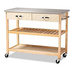 Cresta 2-Drawer Kitchen Storage Cart