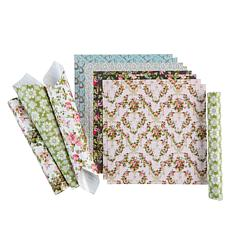 Cricut® Anna Griffin® Set of 12 Patterned Premium Vinyl Sheets